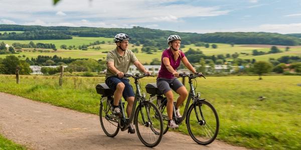 Radfahrer bei Rennerod