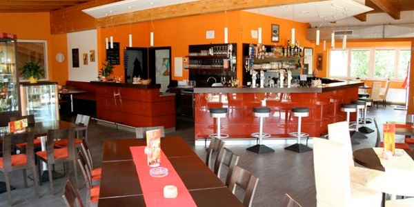 Café POSS-Zentrum, Innenansicht
