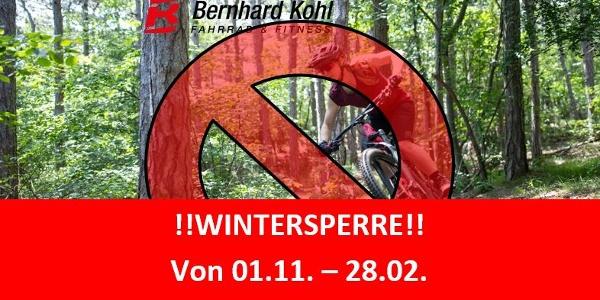 Wintersperre!!
