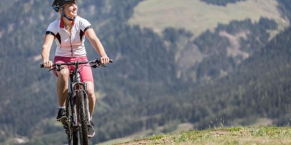 Mountainbiken am Hochkönig