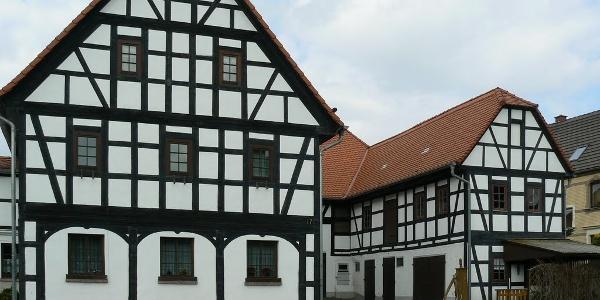 Fachwerkhäuser in Altmörbitz