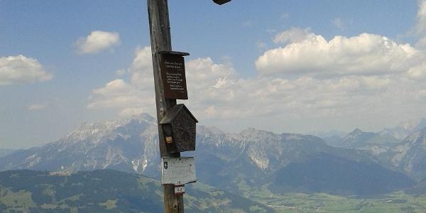 Schwalbenwand Gipfelkreuz