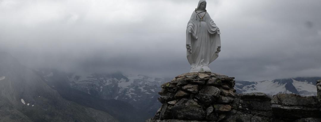 Maria in weis nach der Olpererhütte