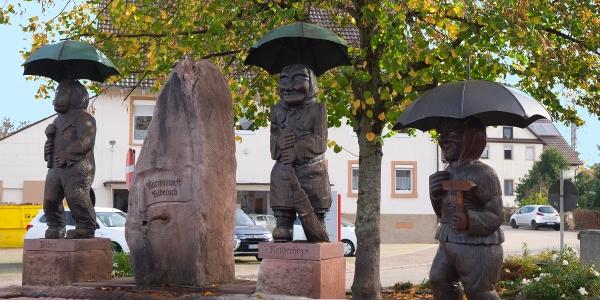 Biberacher Narrenbrunnen