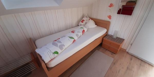 Bett im Appartement Vogel-Klein