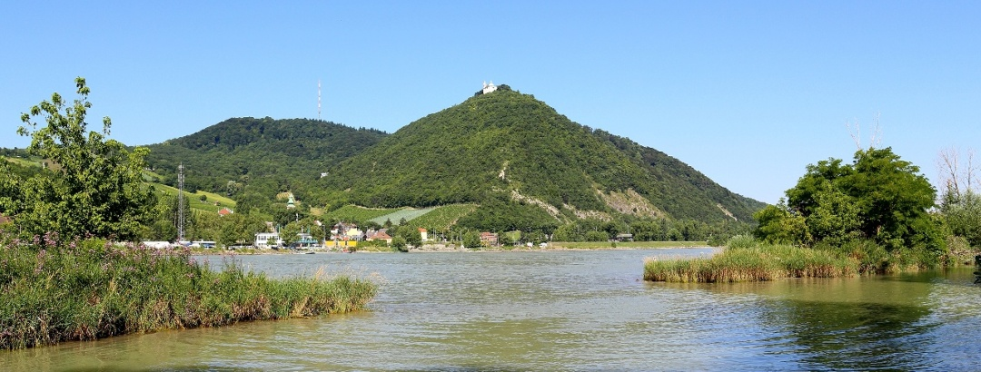 Leopoldsberg und Kahlenberg; nordöstlichster Teil des Wienerwaldes