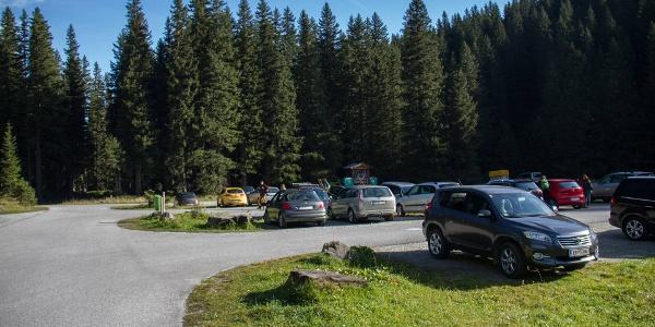 Startpunkt Parkplatz Lenzanger
