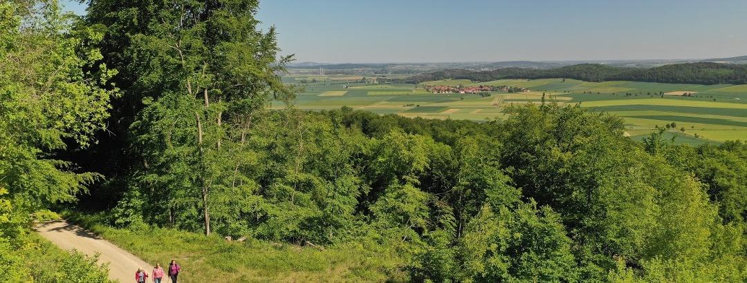 Wanderer im Leinebergland