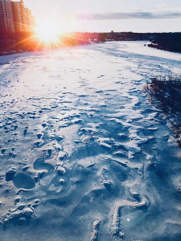 Calgary im Winter
