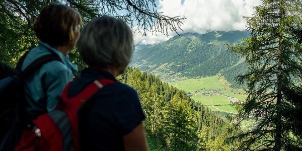 Mountain hike with wonderful views