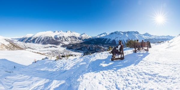 sentiero invernale Marguns-Chantarella