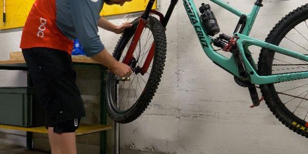 Bike Werkstatt Hotel Continental Park Luzern