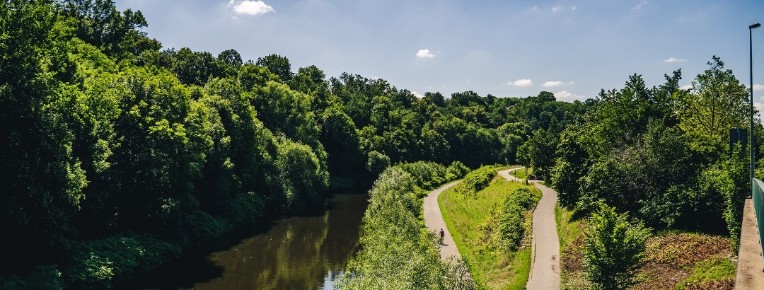 Mulderadweg Zwickau