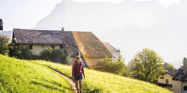 hike La Villa Ruac