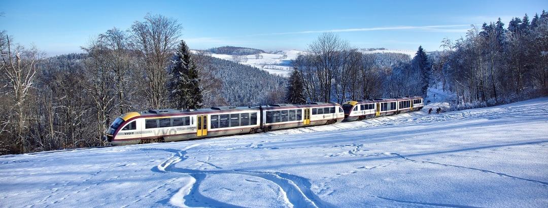 Mitteldeutsche Regiobahn (MRB), Ski- und WanderExpress, Foto L. Neumann