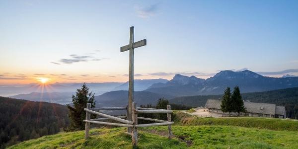 Roha-Fotothek Fürmann - Gipfelkreuz Stoißer Alm