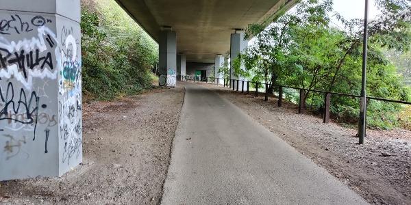 Andernach - Weg nach Namedy