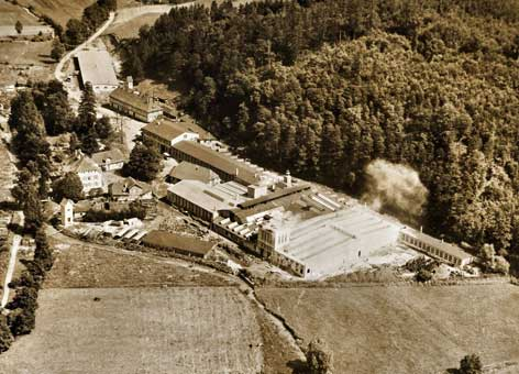 Eisenhütte in Dassel 1955