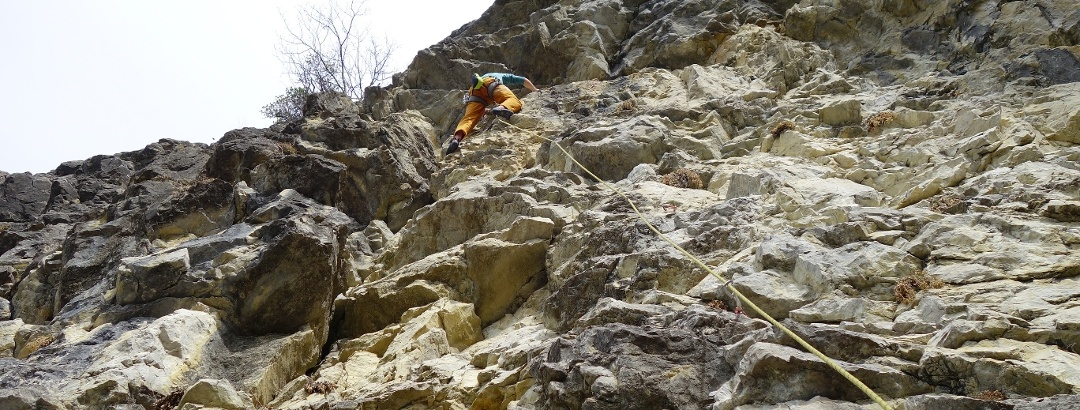 Climbing in the Allgäu