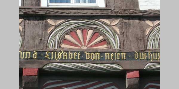 Stadthagen Hausinschrift