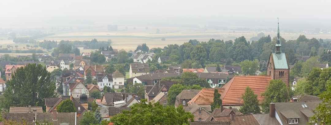 Blick auf Stadtoldendorf