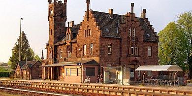 Bahnhof Stadtoldendorf - Sandstein