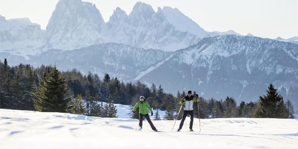 Sci di Fondo sull' Alpe di Villandro