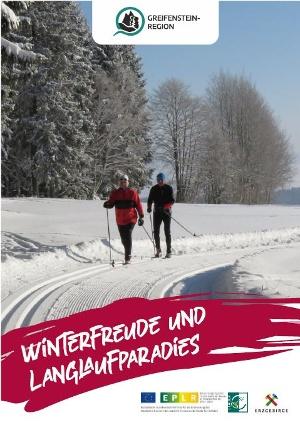 """Titelbild Flyer """"Winterfreude und Langlaufparadies"""""""