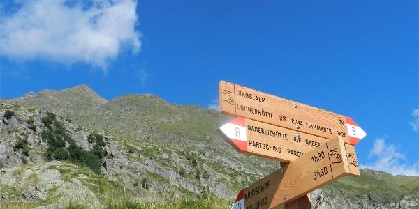 Peak Zielspitz / Cima Zielspitz (3.006 m)
