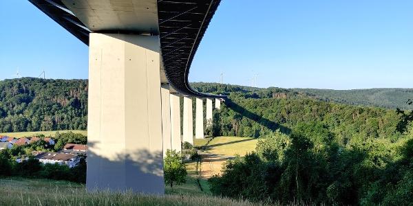Jagsttalbrücke bei Widdern