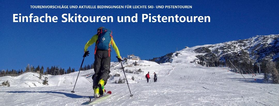 Titelbild Einfache Skitouren und Pistentouren
