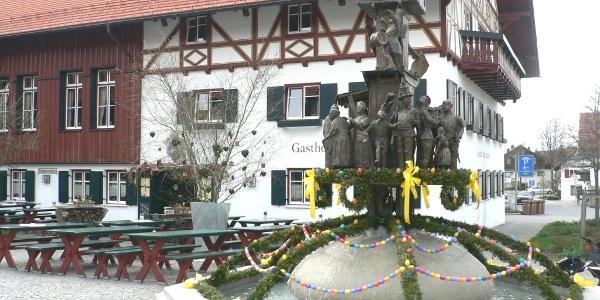 Ratsch-Kathl-Brunnen Wiggensbach