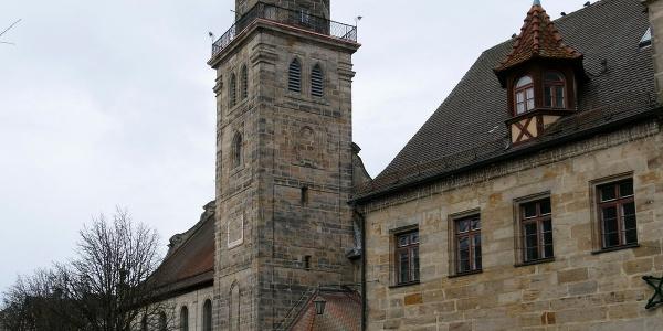 Altdorf_St. Laurentiuskirche und Historisches Rathaus