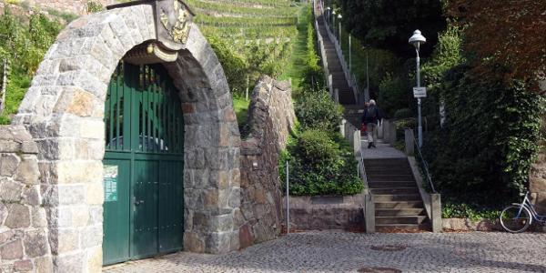 Spitzhaustreppe
