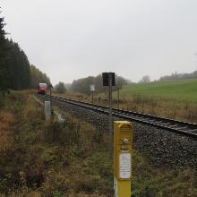 Bahnübergang an der
