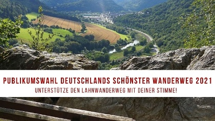 Nominiert für die Wahl zu Deutschlands schönster Wanderweg 2021