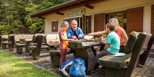 PWV Gräfenstein Hütte Merzalben