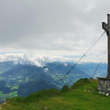 Gipfelkreuz Vorderes Sonnenwendjoch
