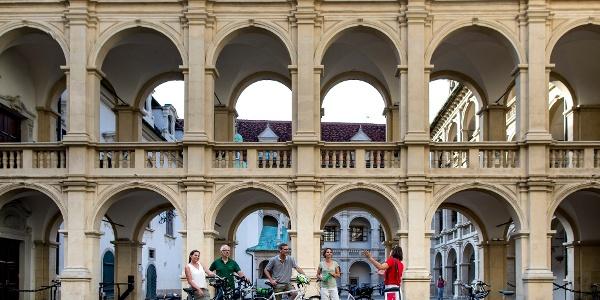Radstadtführung im Landhaushof in Graz