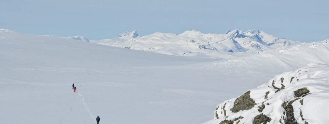 Jotunheimen is the backdrop for this weekend in the mountains of Vang.
