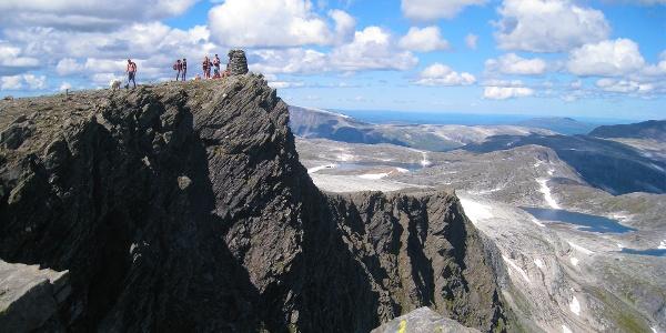 Blåhøa er det høyeste fjellet i Trollheimen, dersom man ser bort fra Innerdalen.