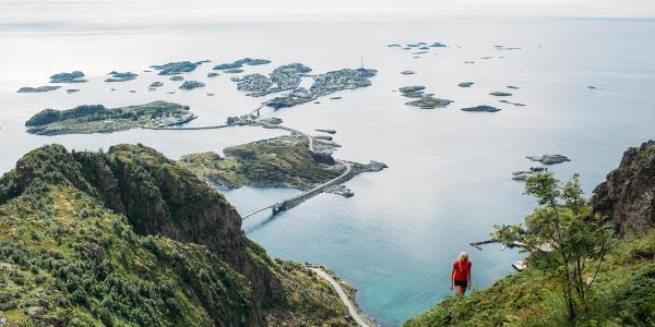 View over Henningsvær.