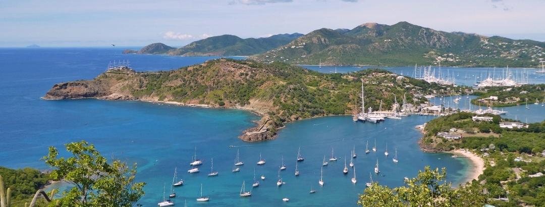 Landscape Antigua and Barbuda