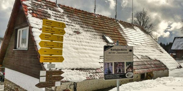 Ausgangspunkt Gasthof Klugbauer auf 1059m
