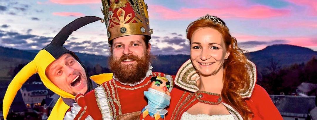 Prinzenpaar der 73.Session - Ski- & Eisfasching Geising