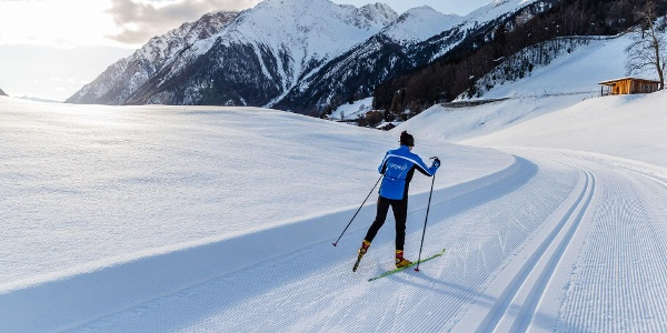 Cross Coutry skiing Pfitsch