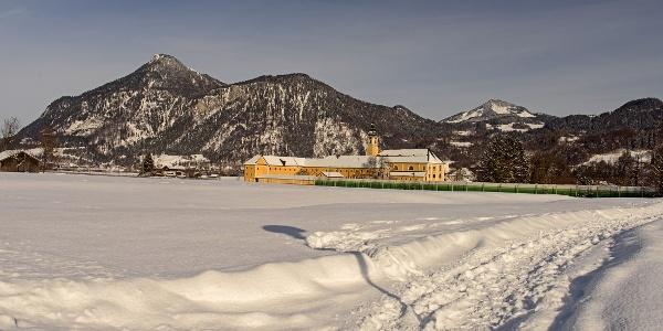 Kloster Reisach im Winter
