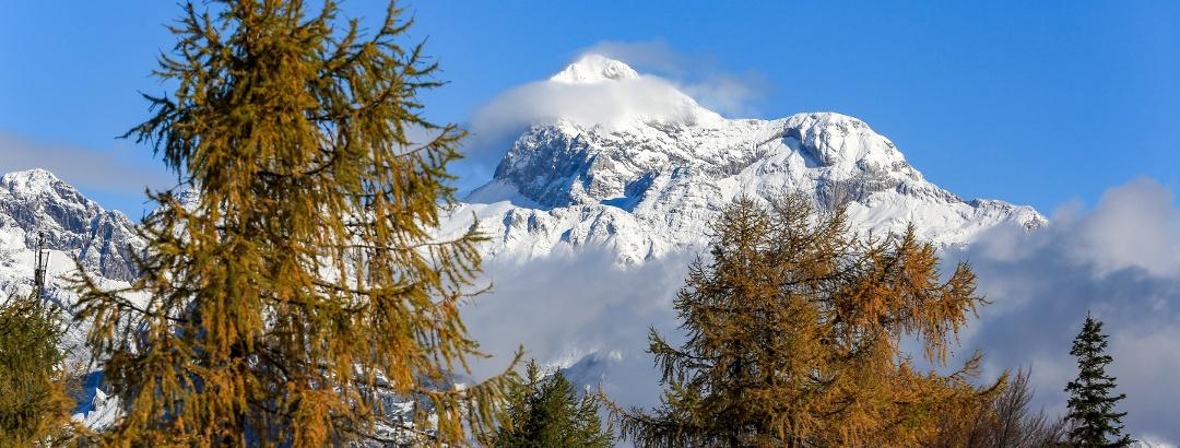 Triglav, from Vogel Ski Centre