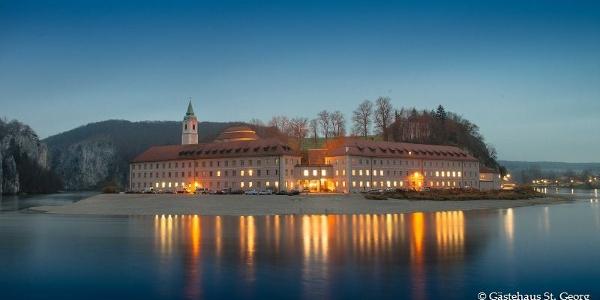 Kloster Weltenburg bei Nacht