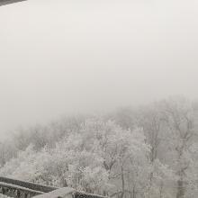 2021. február Magas-hegy, Kilátó